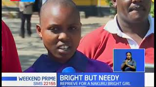 Reprieve for Nakuru girl as well wisher come to her aid days after camping at a police station