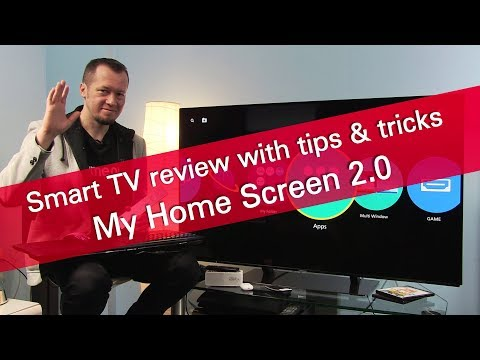 My home screen 2.0 review with tips & tricks on Panasonic 2017 OLED TV