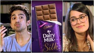 Cadbury Dairy Milk Silk tv ad. | Discover silk | Angira Dhar | Saqib Saleem | Funny | Cute | Adtitle