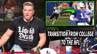 Pat McAfee Talks His Transition From WVU To The Colts