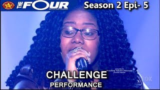 """Kateri Bluford sings """"Because You Loved Me"""" The Four Season 2 Ep. 5 S2E5"""