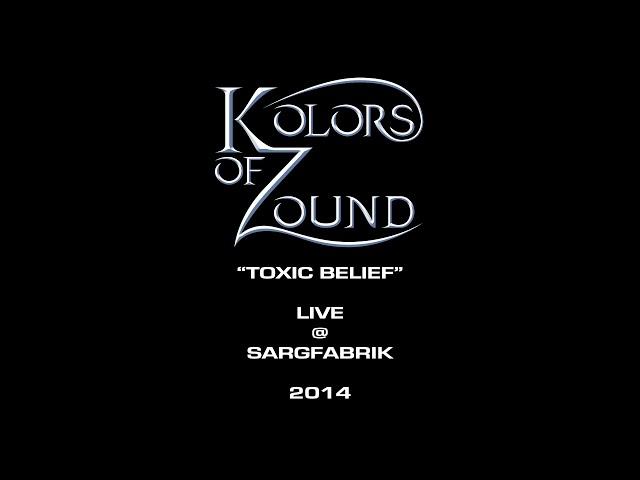 KOLORS OF ZOUND (Toxic Belief - Live @ Sargfabrik - Vienna - 2014)
