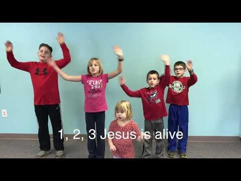 1-2-3 Jesus is Alive