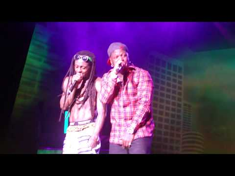 Lil' Wayne,Mack Maine,Birdman - Tapout live @ America's Most Wanted Festival.[HD]