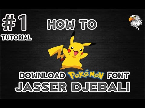 How To Download Pokemon Font | Very Easy