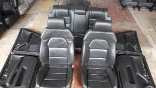 A4SL-1 - Audi A4 S-line - кожаный салон