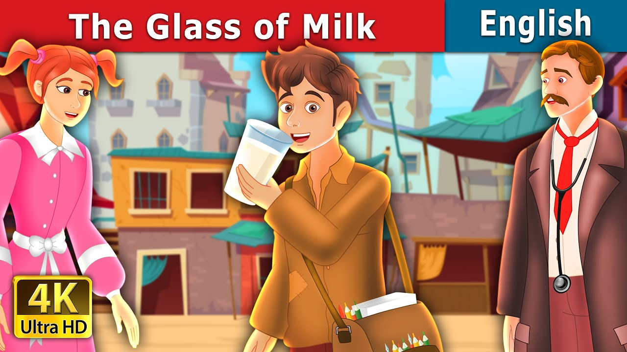 Download The Glass of Milk Story in English | Stories for Teenagers | English Fairy Tales