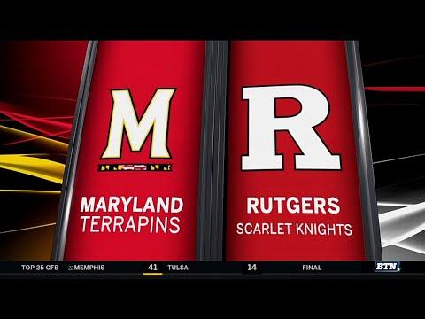 Maryland at Rutgers - Football Highlights