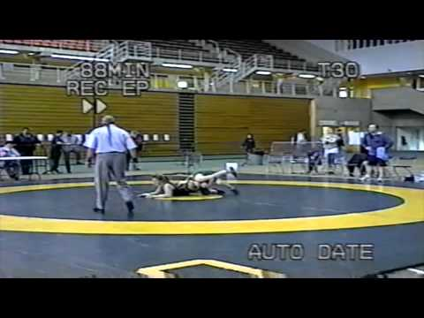 2004 Canada West Championships: 57 kg Kailey Large (REG) vs. Heather Laube (MAN)