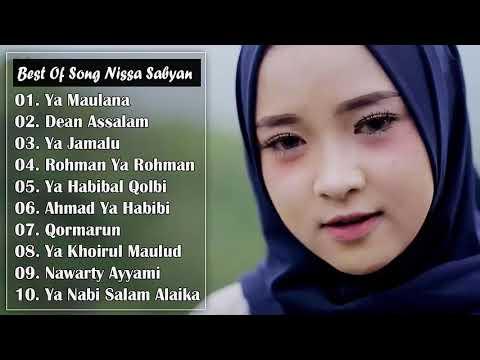 Bikin Merinding!! - 10 Hits Sholawat Bikin Hati Terasa Adem NISSA SABYAN Full Album Paling Populer