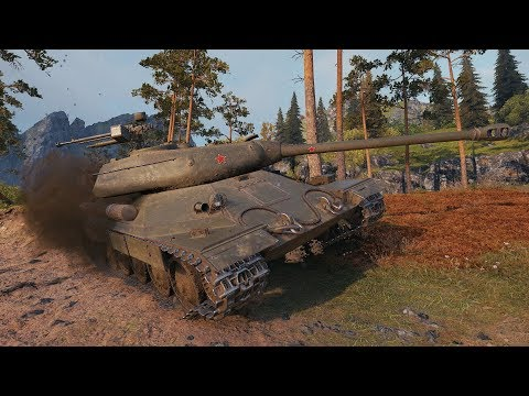WoT IS-6 5993 DMG - Fjords - 동영상