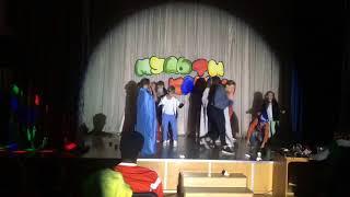 Мульти клипы - конкурс инсценированной песни в детском лагере