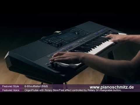Yamaha PSR SX700 Demo