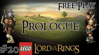 Lego Lord of the Rings (PS3) - Free Play - Prologue