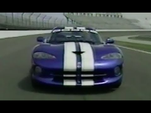 """1996 Indy 500 Dodge Viper GTS Pace Car [ESPN's """"Road to Indy 1996""""]"""
