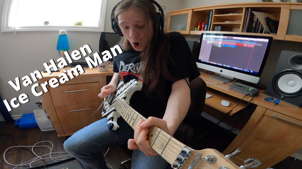 Van Halen Ice Cream Man Guitar Cover