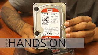 WD Red WD40EFRX 4TB NAS Hard Drive Hands On!