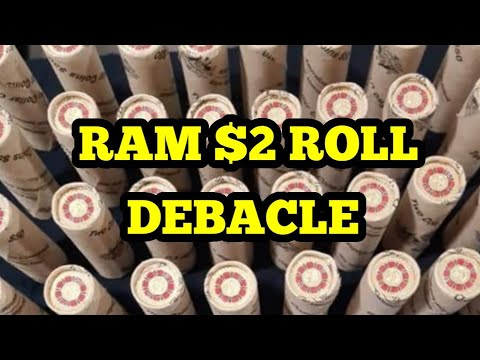 RAM Coloured $2 Roll Stuff Up