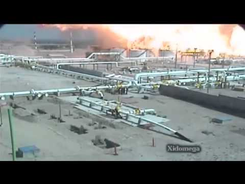oil and gas field explosion