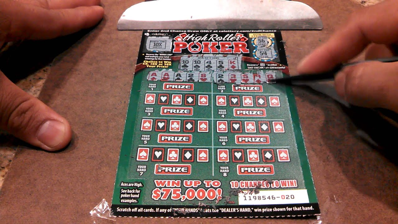 High roller poker ca lottery multi demo slots