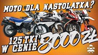 Motocykl dla Nastolatka zamiast Laptopa! do 8000 zł, klasa 125 ccm