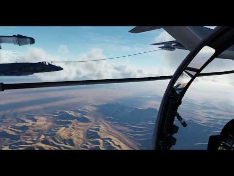 DCS Дозаправка в воздухе AV-8B Harrier (DCS AV-8B Refuelling)