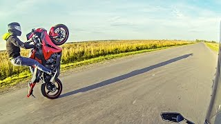 Wheelie In Life | CBR1000RR VS YZF R1