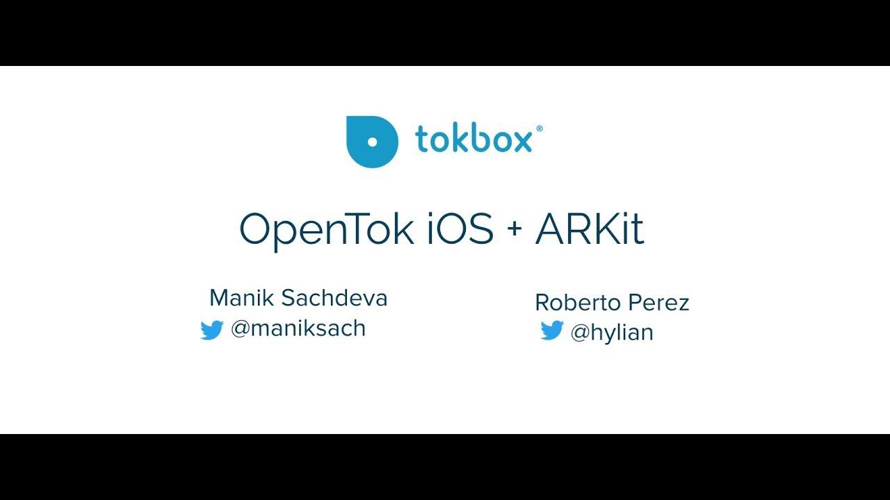 OpenTok iOS & ARKit