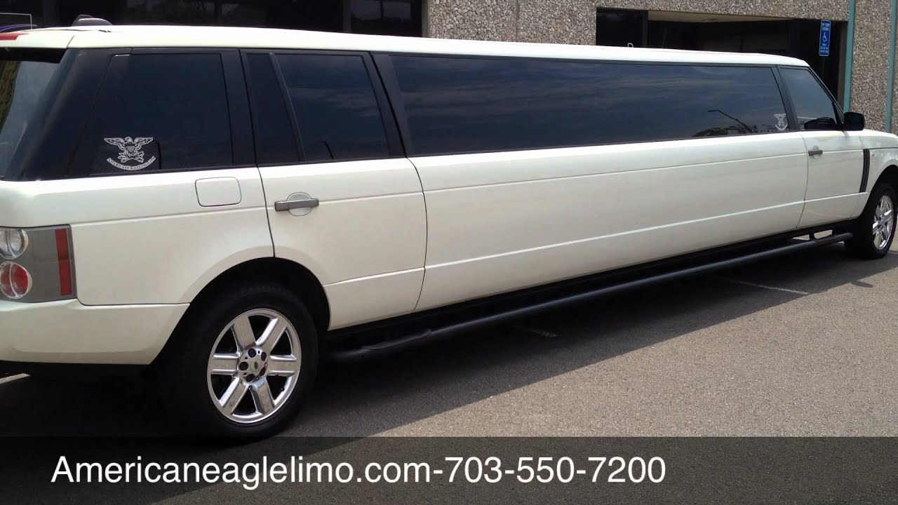 """Exotic Range Limos in DC VA MD The hottest """"Rover """" Limousines"""