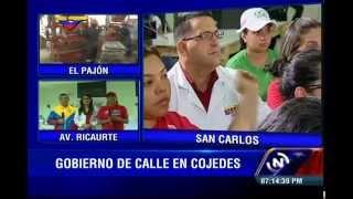 Presidente Nicolás Maduro visita el estado Cojedes, video completo