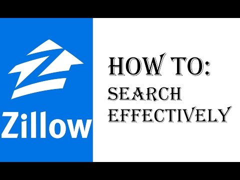 How To Search For Homes on Zillow Effectively - Zillow Walkthrough