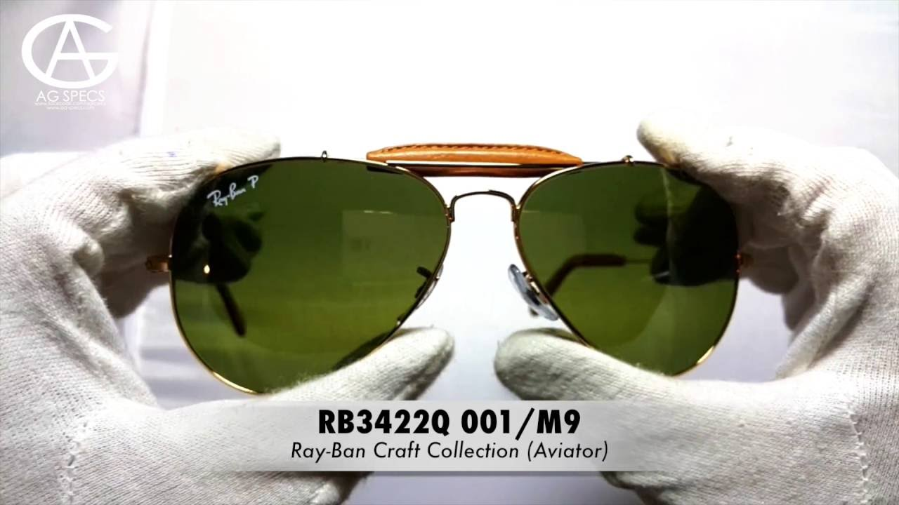9a17f18fc3 Ray-Ban Craft Aviator RB3422Q - YouTube