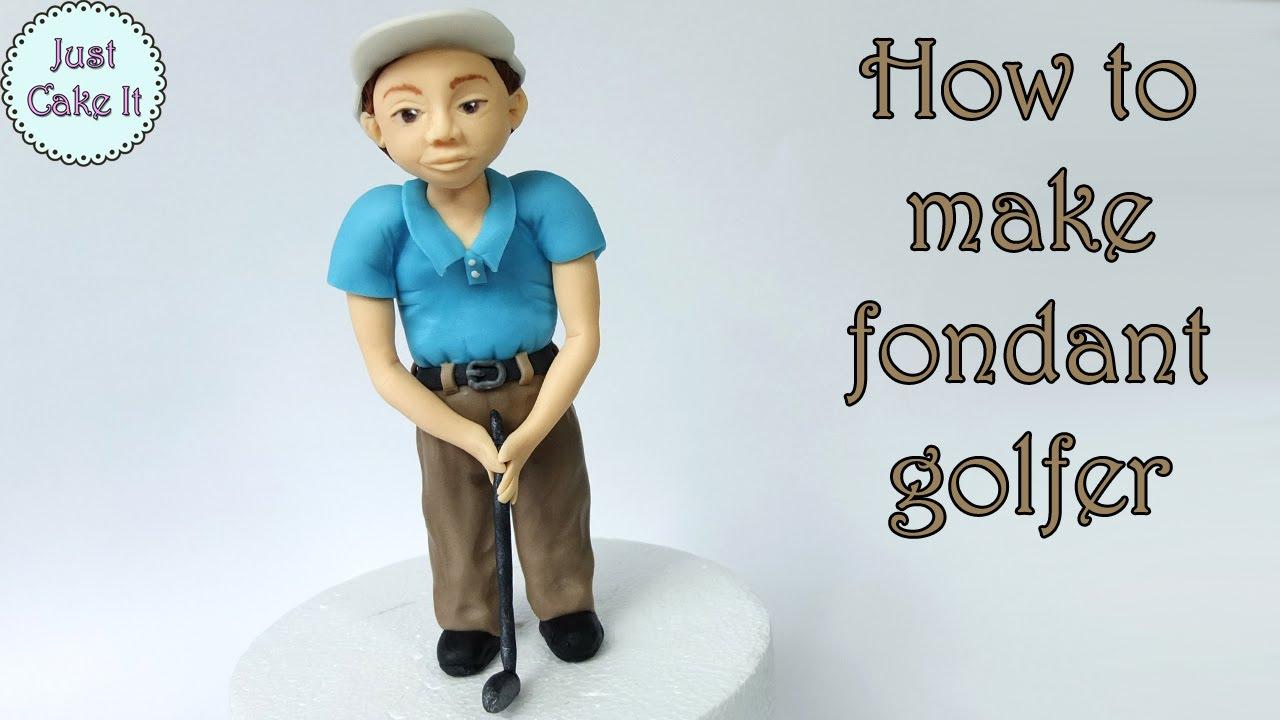 Golf Figurine Cake Topper
