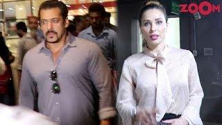 Salman Khan & Iulia Vantur Spotted At Mumbai Airport   Bollywood News