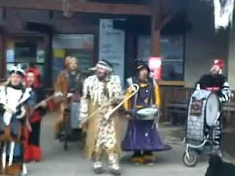 La fanfare des Goulamas - Jah Jel (Live at Morzine 26/02/13) part.3