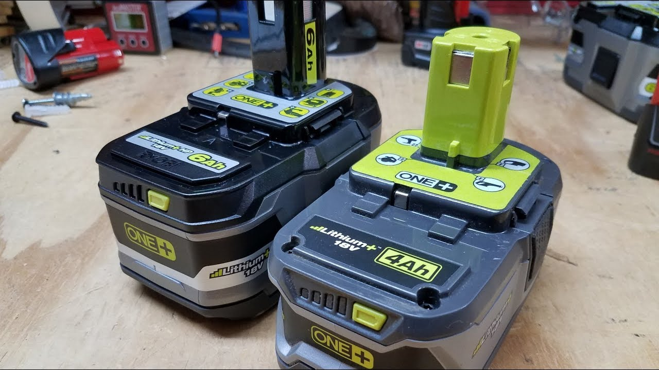 Ryobi One 6ah Battery Review More