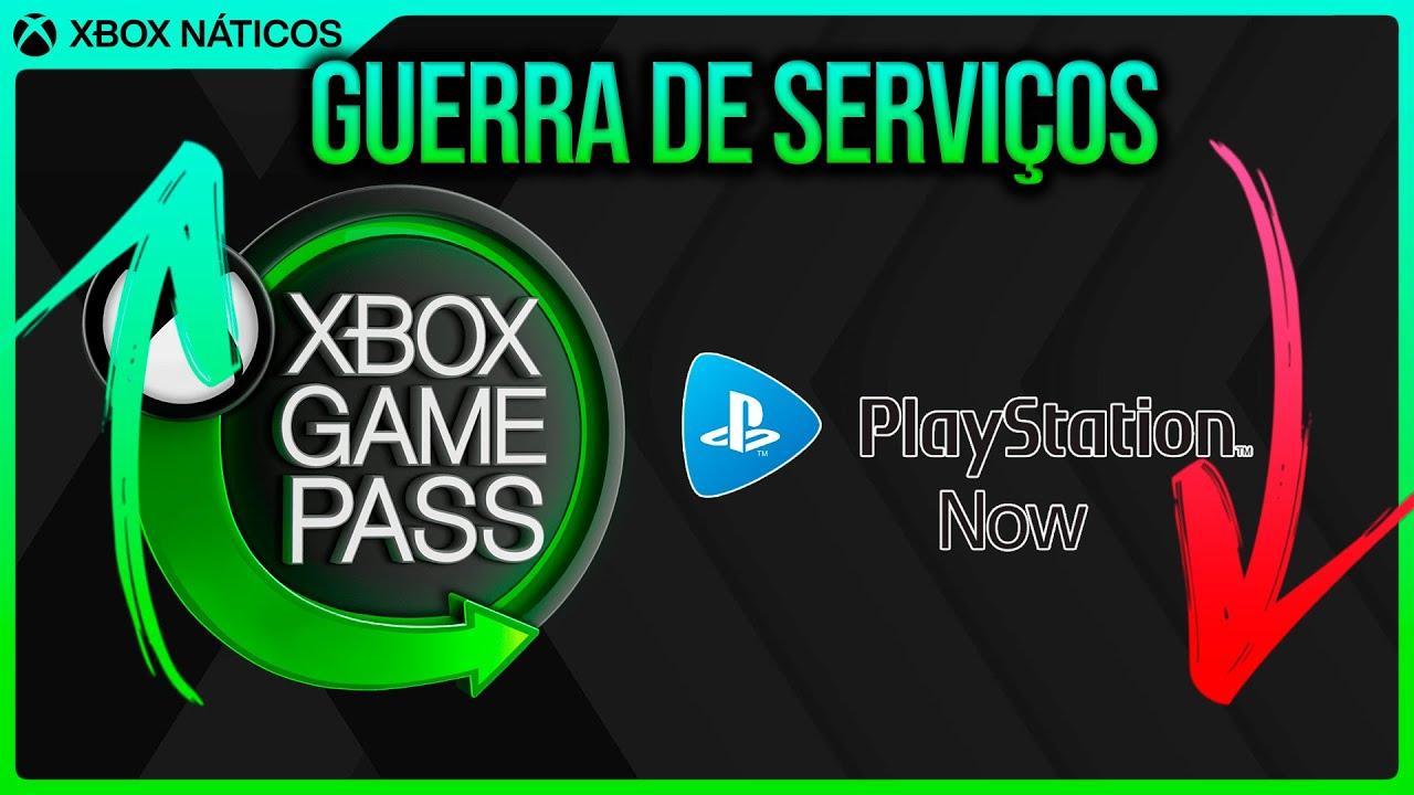 Xbox Game Pass cada vez maior x PS Now PERDENDO assinantes