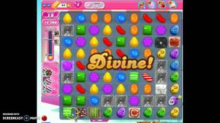 Candy Crush Level 257 w/audio tips, hints, tricks