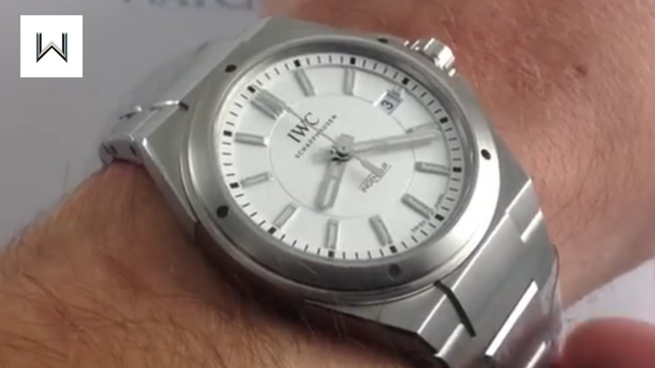 promo code 5d33c 3fdf2 IWC Ingenieur 3239 Automatic Luxury Watch Review