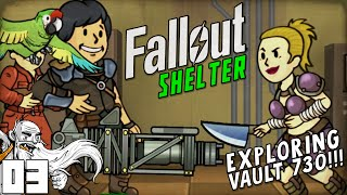 """EXPLORING VAULT 730!!!"" Fallout Shelter (iOS/Android/PC)"