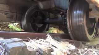 Rerailing a Derailed 2.5 Ton 2 Foot Gauge Locomotive