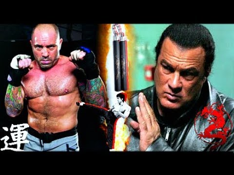 Joe Rogan Vs Steven Seagal FIGHT Part 2 | Taekwondo Kicks Against Aikido Punches! (Martial Arts)
