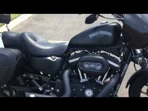 2015 Harley Davidson Sportster 883 Iron Motorcycle Saddlebags Review