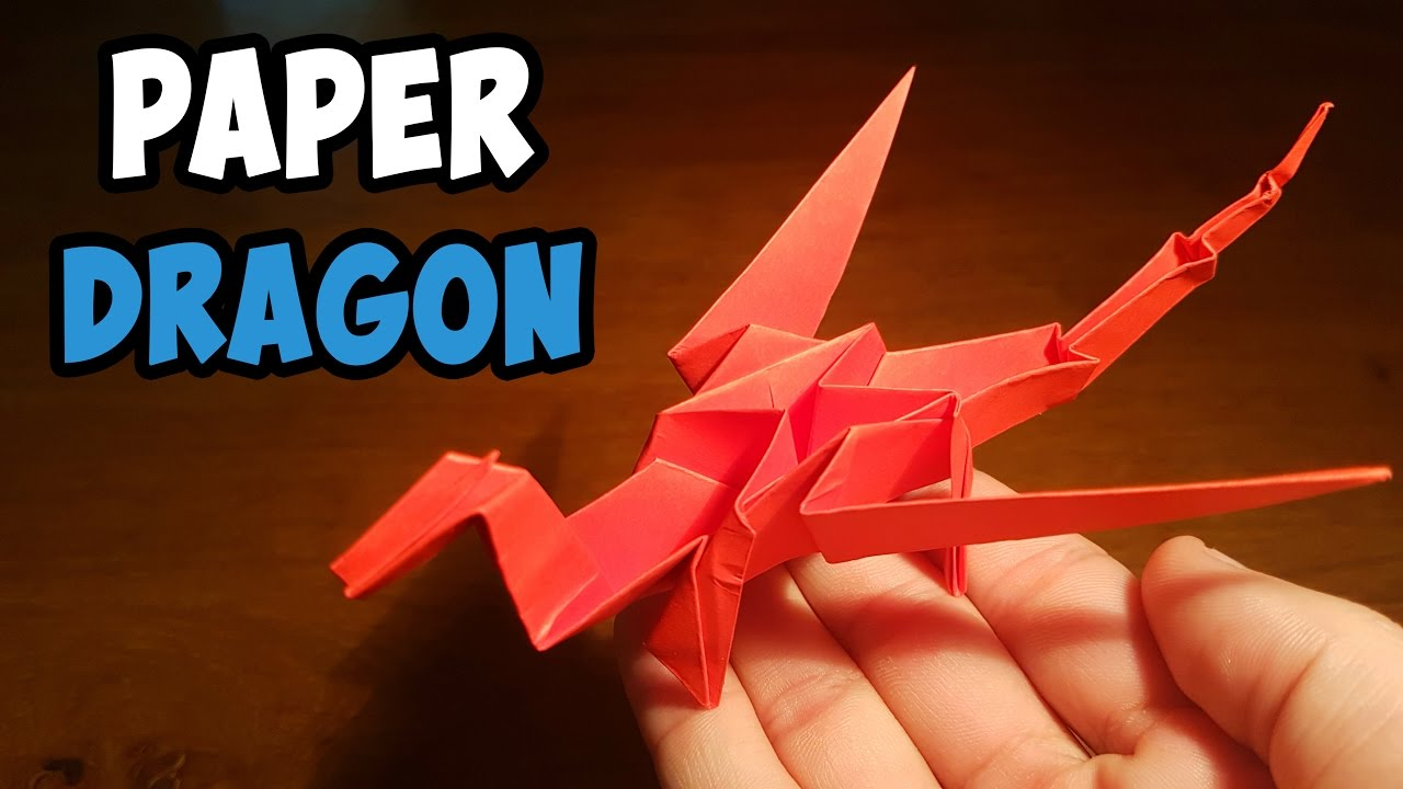 16 Cute Little Origami Dragons | 720x1280