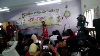 Mone Rong legeche Bosonto eseche | Pori Moni   - Rokto( রক্ত)   | Noboneeta | Dance Video 2017