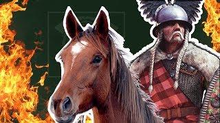 Ход конём! Верцингеториг, кони и огонь )) - Total War Arena