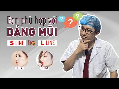 So sánh nâng mũi S Line và L Line - Dáng nào đẹp?   Bs Mạnh