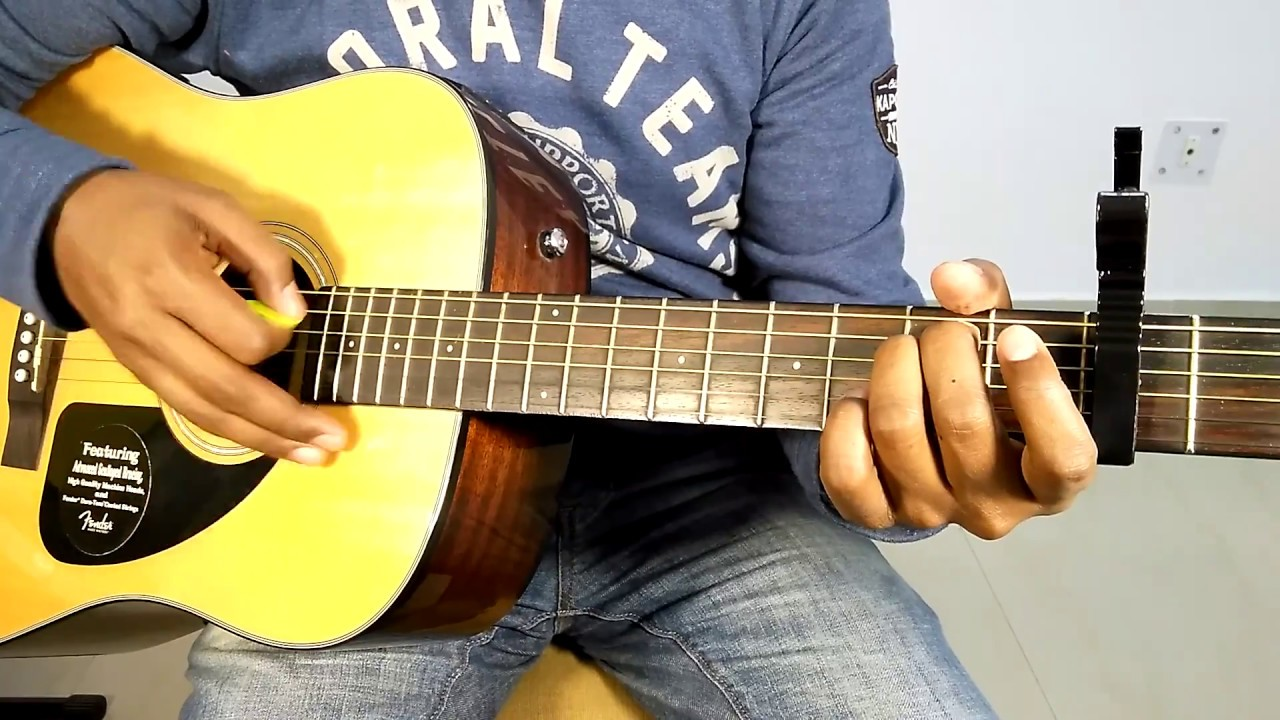 ae mere humsafar romantic bollywood song complete guitar cover