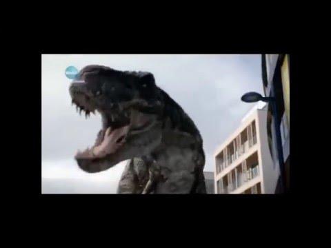 Портал юрского периода Дромеозавр , Гиганотозавр , Спинозавр и Т-рекс