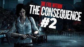 Хоррор The Evil Within: The Consequence #2 - Стреляем из пистолета!